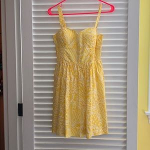 Lilly Pulitzer yellow dress